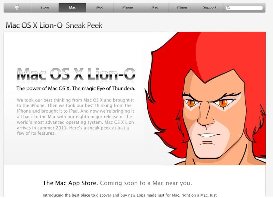 Mac OS X Lion-O