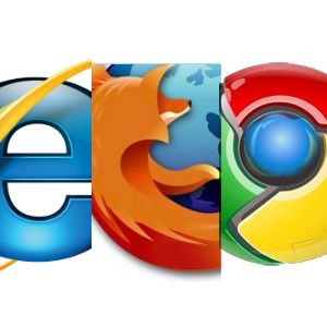 ie8 vs google chrome vs firefox