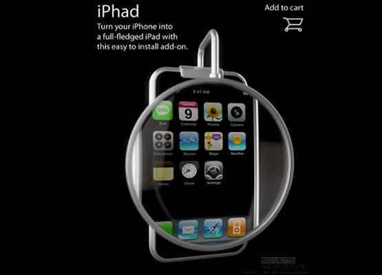 iphone to ipad add-on